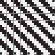 Black and White Optical Illusion, Vector Seamless Pattern Backgr — Stock Photo #33000175