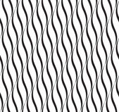 Vertical Waves, Black and White Optical Illusion, Vector Seamles — Stock Photo