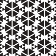 Black and White Triangles Vector Seamless Pattern Background. Li — Stock Vector #35333657