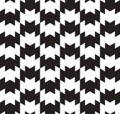 Black and White Vector Seamless Pattern Background. Lines Appear — Vecteur