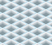 3D Square Box Net, Pattern Background. — Vecteur