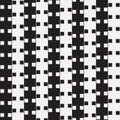 黒と白の錯覚 — ストックベクタ