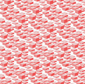 3D Pink Boxes City Abstract Background. — Cтоковый вектор