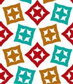 Squares vector seamless pattern — Vector de stock