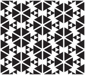Black and White Optical Illusion — Stock Vector