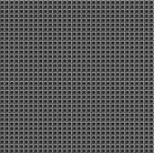 Pixel Grid Texture over Black Background. — Stock Vector
