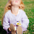 Stock Photo: Girl in meadow