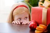 Christmas box — Stockfoto