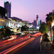 Bangkok city night life — Stock Photo