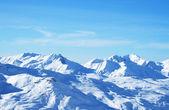 Os alpes no inverno — Foto Stock