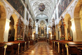 The cathedral interior — Stock Photo