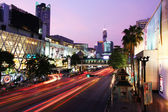 Bangkok city night life — Stock Photo