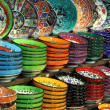 Stock Photo: Set of colorful bowls