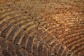 Ancient Greek theater in Turkey — Stock Photo