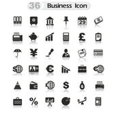 Set Office and Business icons — Stock Vector