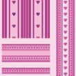 Royalty-Free Stock Vector: Seamless patterns with hearts
