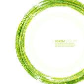Astratto di elementi verdi e gialli. — Vettoriale Stock