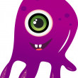 Cute alien monster — Stock Photo