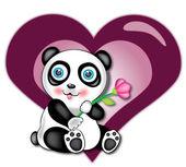 Bebé panda — Foto de Stock
