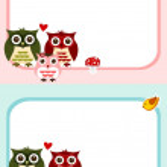 Cute owl stickers — Stock Photo #31629303