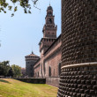 Castello Sforzesco, Milan — Stock Photo