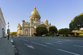 Isaac Cathedral in St. Petersburg — Stock Photo