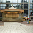 Parisian carousel in La Defense - Stock Photo