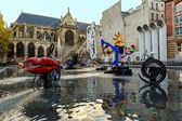 Stravinsky Fountain Paris — Stock Photo