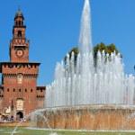 Sforzesco Castle, Milan — Stock Photo #19448269