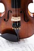 Old violin — Stock fotografie