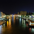 Grand Canal at night, Venice — Stock Photo #23265996