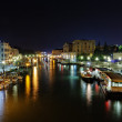 Grand Canal at night, Venice — Stock Photo #23266392