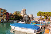 Sirmione Castle — Stock Photo