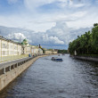 Fontanka canal — Stock Photo