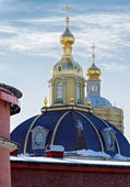 Cathedral In St.Peter And Paul Fortress — Stock Photo