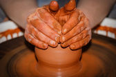 Pottery handmade — Stock Photo