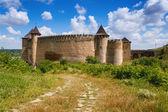 Khotyn Fortress, Ukraine — Stock Photo