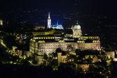 Budapest en la noche — Foto de Stock