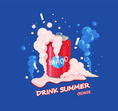 Summer drink — Stock Vector