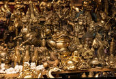 Chinese bronze souvenirs — Stock Photo