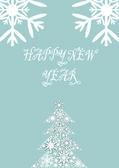 Frohes neues jahr 2013. grüße und glückwünsche — Stockvektor