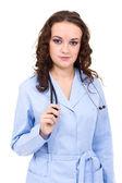 若い女性医師の肖像画 — ストック写真