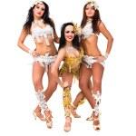 Постер, плакат: Three belly dancers