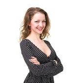 Beautiful young smiling woman — Stock Photo