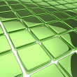 Royalty-Free Stock Photo: Abstract background with reflecting green squares