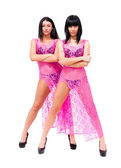 две сексуальных женщины — Стоковое фото