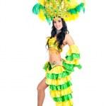 Carnival dancer woman dancing — Stock Photo #38715563