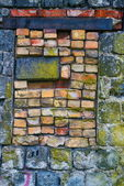 Stone wall texture for background — Stock Photo