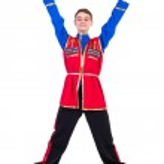Russian cossack dance — Stock Photo #46381733