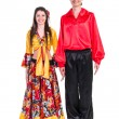Gypsy flamenco dancer couple — Stock Photo #46498365